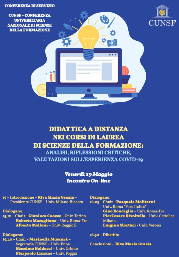locandina evento cunsf 29 maggio